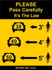NH Pass Sign